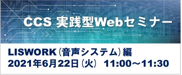 CCS実践型Webセミナー LISWORK(システム)編